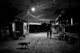 DV 14 - Il villaggio di Cojimies al tramonto