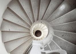 IB 26 - Padula, Certosa di San Lorenzo, scala elicoidale- 2010