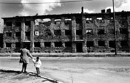 IB 41 - Mostar (Bosnia), rovine della città - 1996