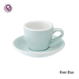 Loveramics Egg Espresso 6 Stück River Blue