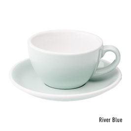Loveramics Egg Flat White 6 Stück River Blue