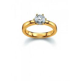 Viventy | Ring | silber, vergoldet | 769791
