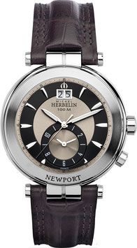 NEWPORT DUAL TIME Herrenarmbanduhr