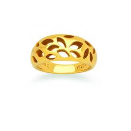 Viventy | Ring | silber, vergoldet | 768871