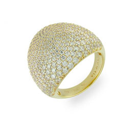 Vilmas | Ring | Vita Opera Large Drop Gelb | 4028146560918