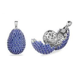 Vilmas | Anhänger | Vita Opera Medium Drop Blau | 4028146549821