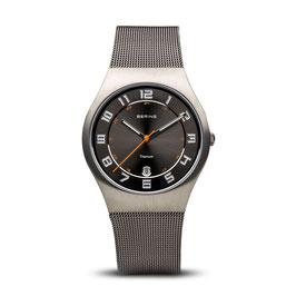 Bering | Titanium |  grau gebürstet | 11937-007