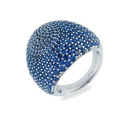 Vilmas | Ring | Vita Opera Large Drop Silber/Blau | 4028146562028