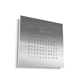 QLOCKTWO CLASSIC (stainless steel)