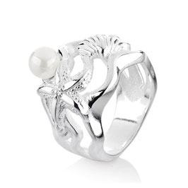 Heartbreaker | Sealife | Ring | silber | LDSL12