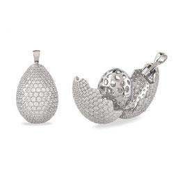 Vilmas | Anhänger | Vita Opera Large Drop Silber | 4028146485617