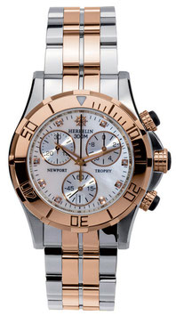 NEWPORT TROPHY GRAND SPORT CHRONO Damenarmbanduhr | 34491/BTR89