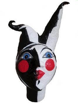 Kopf Pantomime, Pappmache