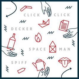 "ClickClickDecker & Spaceman Spiff - Split-7"" (Vinyl-Single)"