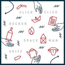 "ClickClickDecker & Spaceman Spiff - Split-7"" (Vinyl-Single)"