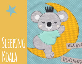Stickdatei Sleeping Koala