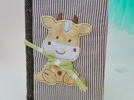 Stickdatei Kuh Liesl mit 3 D Schal