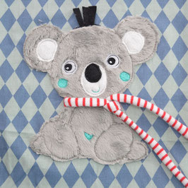 Stickdatei Koala mit 3D Schal
