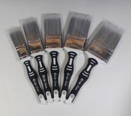 Pennello per laccature/finiture/vernici acriliche e solventi