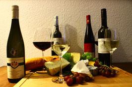 Wein und Käse Seminar - Konstanz - 24. November 2017 - 19.00-22.00