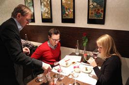 Wein und Sushi Seminar - Düsseldorf - 16. Dezember 2017 - 19.00-22.30