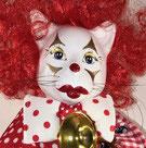 Lolo le clown - Animaginaire - tête en céramique