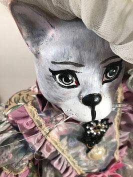 Mademoiselle Nina - tête en céramique