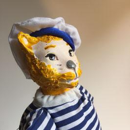 Chat Marin-pêcheur des suspensions de Vespucci