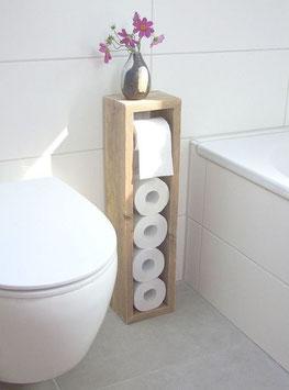 Toilettenpapierspeicher Altholz