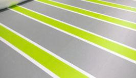 Camping Windschutz / PVC Sichtschutz Grün/Grau