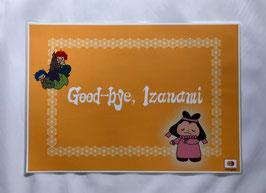 B4サイズ 巻二「いざなぎといざなみのわかれ」Good-bye, Izanami