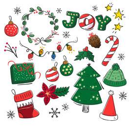 Atelier Décoration de Noël : de 5 à 12 ans