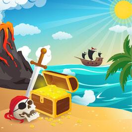 Chasse aux trésors Piratesque ! 6 à 12 ans