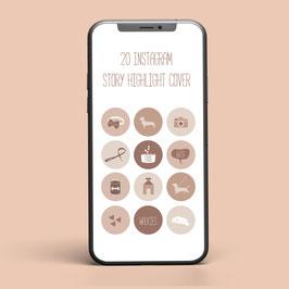 20 Instagram Highlight Cover - Dachshund