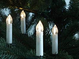 LED Lichterkerzen Lichterkette Weihnachtsbaumbeleuchtung Außen