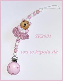Schnullerkette Teddy - Rock SK2001