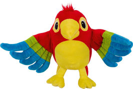 Papagei Pelle - Handpuppe