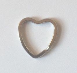 5 Herz Schlüsselringe