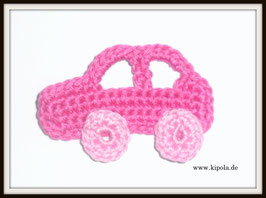 Auto Pink Häkelappliktion