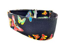 Halsband Butterfly schwarz / 68.