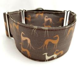 Halsband Windhund / 4. braune Windhunde
