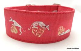 Halsband Windhund / 34. Windi auf Herz