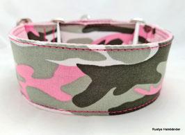 Halsband Camouflage rosa / 71.