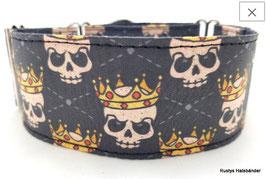 Halsband Crown / Skulls