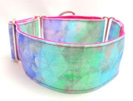 Halsband Batik pink / 35.