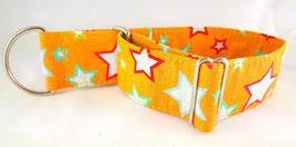 Halsband Sterne orange / 12.