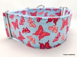 Halsband Butterfly himmelblau / 95.