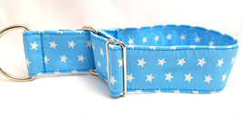 Halsband Sterne hellblau / 10.