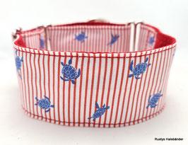 Halsband Maritim rot/blau//Schildi / 85.