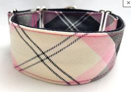 Halsband Karo rosa / 108.